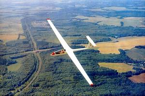 Полет на планере (30 минут)