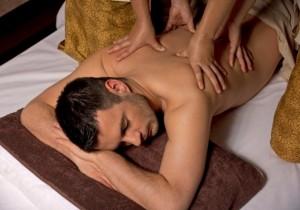 Тандем массаж в четыре руки